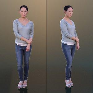 3D 10280 Bao - Casual Standing Woman