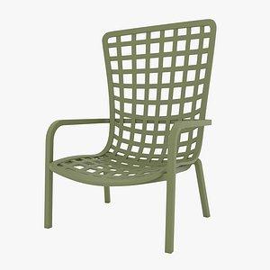 nardi folio chair 3D