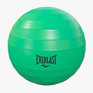 Pilates Ball v5 with Pbr 4K 8K 3D model