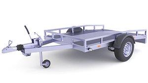 3D ATV Quad Trailer 25