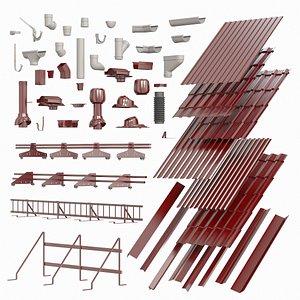 3D roof model
