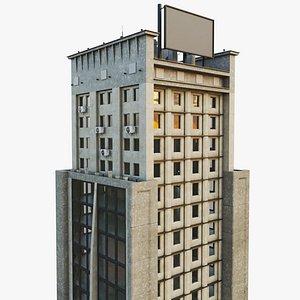 city street work building model