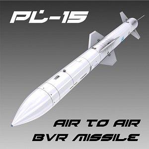 PL-15 BVR Missile 3D