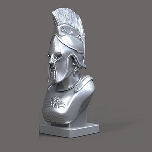 Leonidas Bust 3D