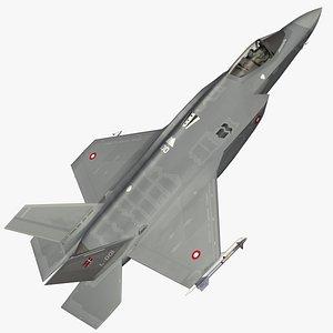 3D F35A Danish Air Force