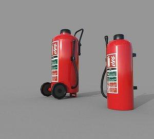 2 Fire Extinguishers model