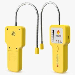 3D Techamor Y201 Portable Methane Propane Gas Leak Detector