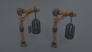 3D cage metal