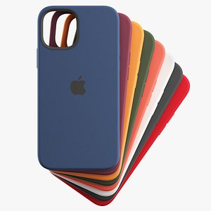 silicone case iphone 12 3D