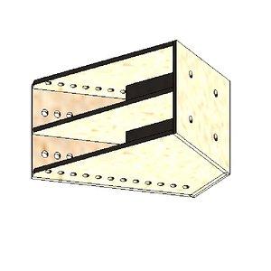 Jib Piece 0.45m HR350 3D model