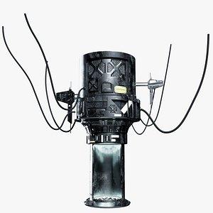 3D Sci-fi Teleporter