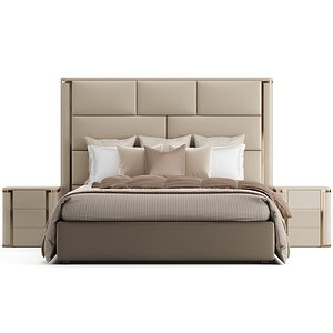 3D Fendi Casa Montgomery Bed model