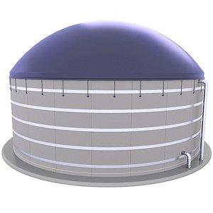 3D Agricultural Biogas Plant 8