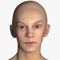 Real PBR Athena Human Head Neutral AU0
