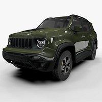 Jeep Renegade Green Trailhawk 2019 L072 model