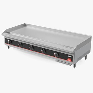 Vollrath 40840 Cayenne 60 Flat Top Gas Countertop Griddle 3D model