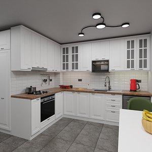 3D Kitchen Model C