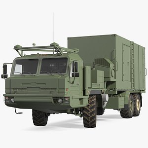3D command vehicle 50k6 vityaz