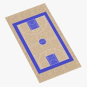 Basketball Surface 07 3D