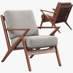 3D Joybird Soto Chair 3 options