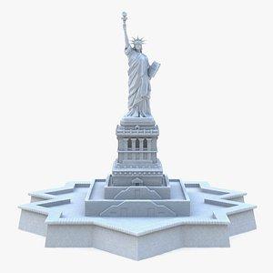 Statue of Liberty 2 3D model