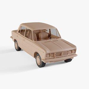 3D model 1970 Fiat 125