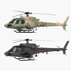3D model z-11 cz-11