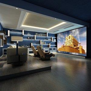 3D model Home Cinema