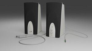 3D Genius PC speakers SP-K10 model