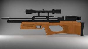 kral rifle 3D model