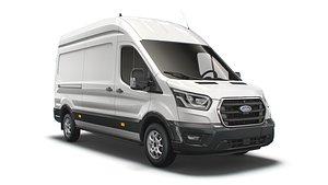 Ford Transit Van L3H3 Limited 2021 3D model