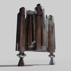 jetpack mandalorian way 3D