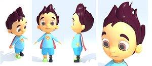 boy m 3D model