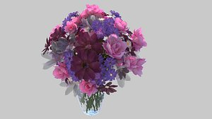 3D Fresh flowers20210727 model
