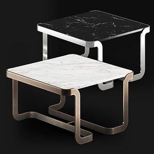 T3 Mathus coffee table by Lazzarini e Pickering 3D