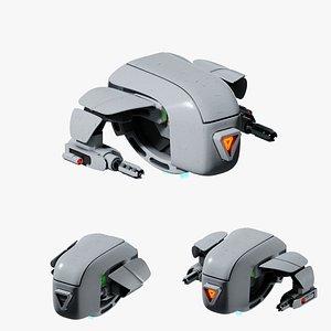 3D drone dron model