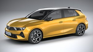 3D model Opel Astra 2022
