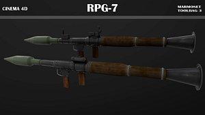 3D model rpg-7 rpg