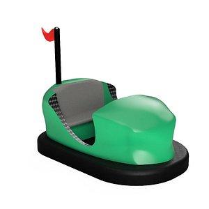 3D Bumper Car model