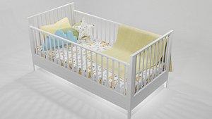 Baby Bed 3D