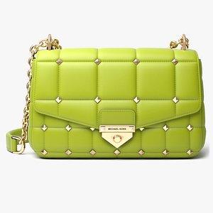 3D model Michael Kors SoHo Studded Bag