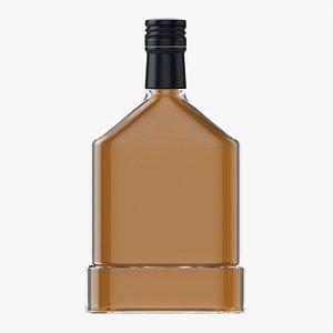 3D Whiskey bottle 17