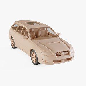2008 Subaru Legacy 3D model