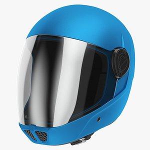 Cookie G4 Skydiving Helmet Blue 3D