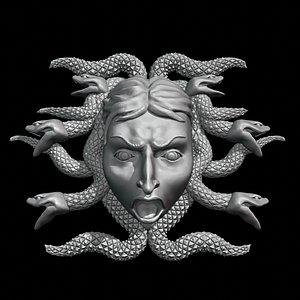 gorgon medusa 3D model