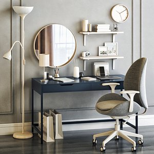 IKEA Women's dressing table and workplace 3D model