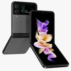 Samsung GALAXY Z Flip 3 Rigged model