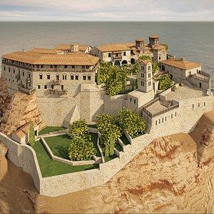 3D model old castle