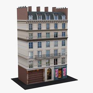 Typical Parisian Apartment Building 30 3D model