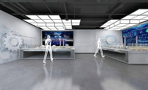 Exhibition Hall Technology Exhibition Hall Digital Exhibition Hall Multimedia Exhibition Hall 3D
